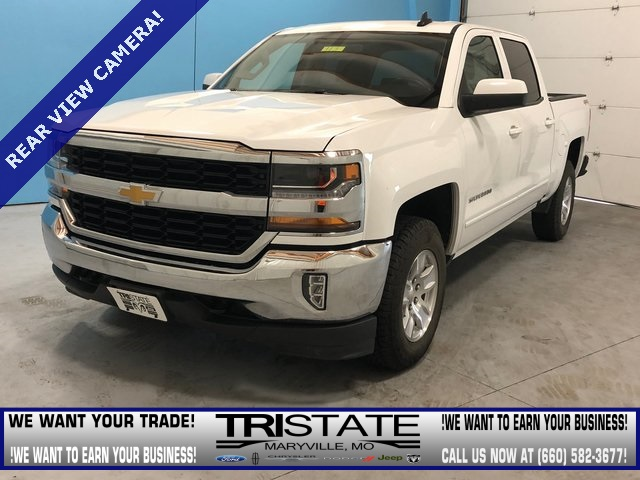 Pre Owned 2017 Chevrolet Silverado 1500 Lt 4d Crew Cab In Maryville