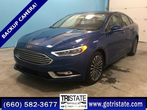 Pre-Owned 2017 Ford Fusion SE